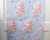 ISOLDE floral linen tea towel
