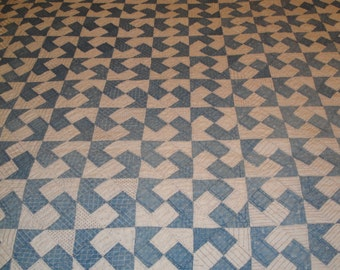 Old Quilt | Antique Quilt | VIntage Quilt |  Old Handmade Quilt | 79 x 70 | NOT PERFECT