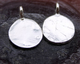 Blanks Sterling Silver Charm for Stamping