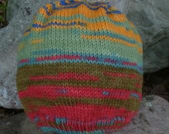 Multi-Striped Child's Hat