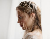 Wedding hair jewelry crown - Noble Anne no 2068