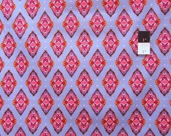 CLEARANCE Free Spirit Design Loft PWFS006 Kaleidoscope Foulard Denim Cotton Fabric 1 Yard