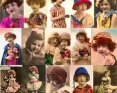 Vintage Postcard Images, 25 Fully Digitally Restored Images, All Uses Okay (Set#1) Instant Download