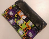 Leather HELLO KITTY Halloween Clutch