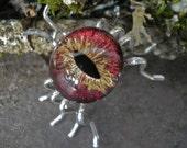 Gothic Steampunk Eye Bug You Spider