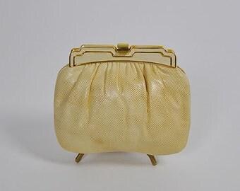 1970s purse / Kreamy Karung Vintage 70's Evening Bag