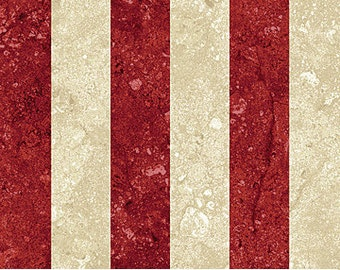 Northcott Stonehenge Stars & Stripes 39100 25 Red and White Stripes by the yard