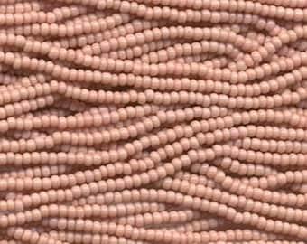 Czech Seed Beads 6/0 Opaque Pink 31699 , Glass Seed Beads, Size 6/0 Seed Beads, Jablonex Seed Bead, 4mm Seed Beads, Preciosia