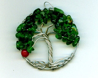 The Giving Tree Pendant Argentium Silver