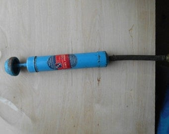 Vintage Metal Bicycle Tire And Utility Pump Peters and Russell Inc