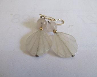 quartz shell dangles