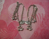 Mother Daughter Swan Ankle Bracelet Anklets Jewelry Gift