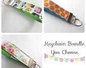 Keychains - Key Chain - Keychain Bundle - Key Fob - Teacher Gift