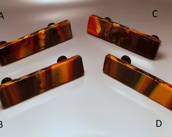 Fused Glass Pot Melt Drawer Pulls