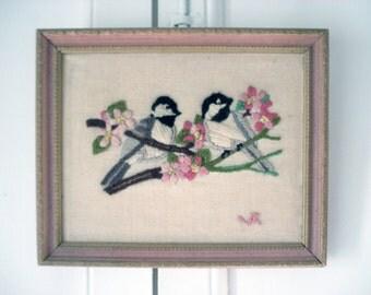 Sweet framed birds picture