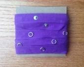 Snap Tape, Purple, 2 yards