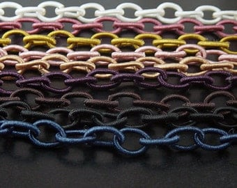 Decorative Fancy Chain CHOICE Oval 33-35 inches long Nylon (links 10mm x 8mm) (1031cha10m1)