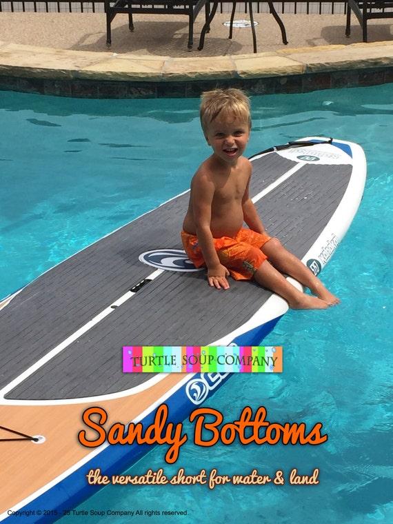 Lil' Sandy Bottoms -  swim suit trunks / shorts
