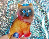 Goopy Cat Big sticker