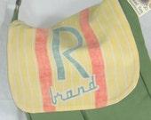 Ramy Seed Sack Messenger Handbag