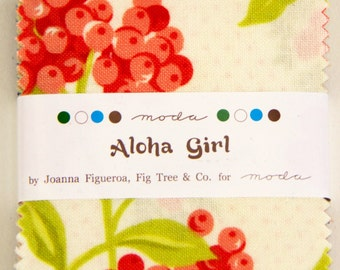 Aloha Girl Mini Charm Pack Moda