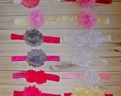 Clearance Sale Infant headbands with flowers