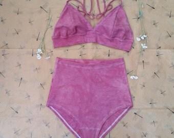 Light Layers Natural Waist/Bikini set (stretch hemp)