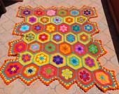 Sunshine    African Flower blanket