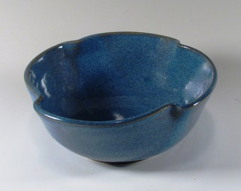 Ceramic Serving Bowl, Unique Serving Bowl, Soup Bowl, Ramen Bowl, Cereal Bowl, Ceramic Bowl, Blue Bowl, Noodle Bowl, Snack Bowl, Salad Bowl