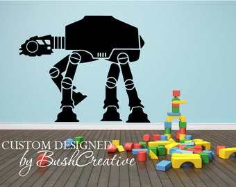 Star Wars Decal Jedi AT-AT Walker (All Terrain Armored Transport) 015