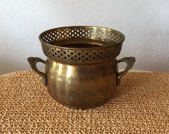 Decorative Brass Container