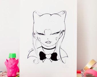Sailor Cat Girl
