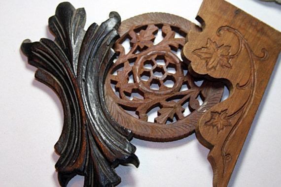 Vintage Wooden Trim Pieces Architectural Salvage Furniture