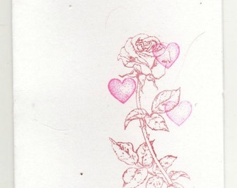 rose love cards