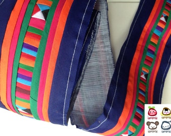 Hmong fabric, Hmong Textile, Lisu Textile, Blue, quilt, fabric, Thai hill tribe, Hmong, Lisu fabric, Sewn Fabric, Crafting, textile, iammie
