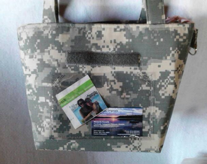Custom military branch purse Handmade to your specs choose fabric, colors, words, style, support our troops honor our military men and women