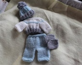 10 inch doll outfit  handknit