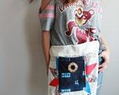 Lace Crochet Star Batik Patchwork Eco Friendly Pocket Utility Festival Wrap Hip Belt  Pouch Waist Pack By MountainGirlClothing