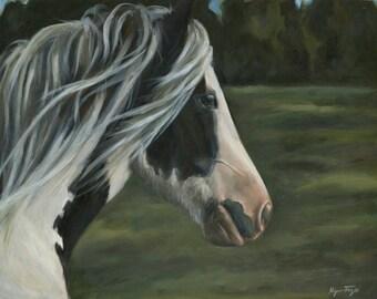 Ailish Portrait by Kyanna Fejes ~ Gypsy Vanner ~ Gypsy Cob ~ Gypsy Horse cards