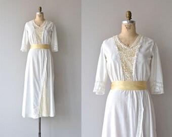 Seddon Hill dress   1910s white cotton dress • vintage Edwardian dress