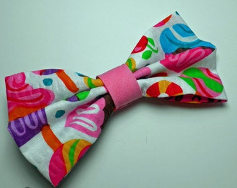 Pink Kawaii Sweet Tooth Hair Bow