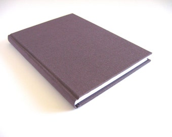 5x7 Plum Lined Journal