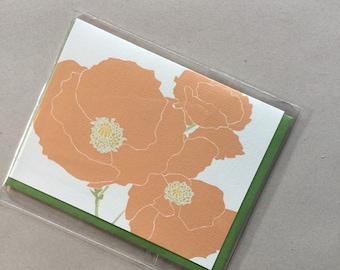 Poppy Single Card