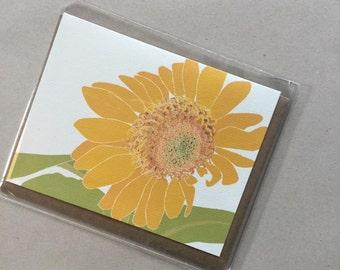 Sunflower Single Card