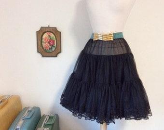 vintage 1980s belt // aqua sash large gold buckle // pastel glam 80s