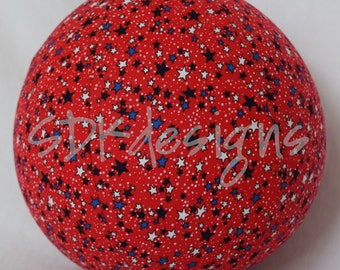 Balloon Ball - Patriotic Red White And Blue Stars - great kids TOY as seen with Michelle Obama on Parenting.com