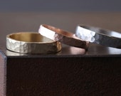 Unisex 14kt Gold Band- 5mm