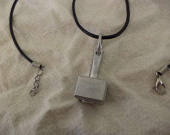 Solid Aluminum Thor's Hammer pendant