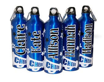 Personalized Aluminum Bottle - 25 fl. oz. - Cheer