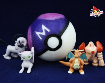 Master Ball Pokeball Soap with Toy Inside, Anime Gift